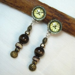 Boucles d'oreilles FIVE O'CLOCK